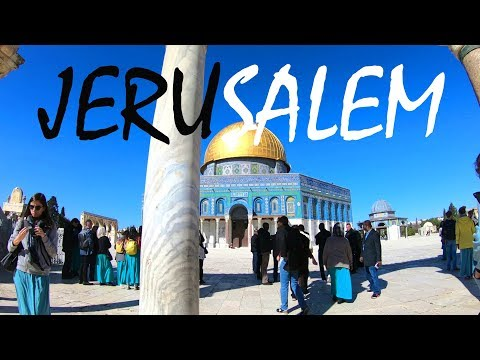 A Tour of the Incredible Old City of Jerusalem