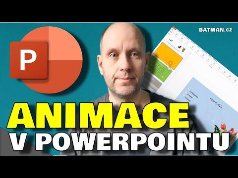 MS Powerpoint - Animace