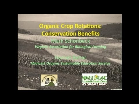 Organic Crop Rotations: Conservation Benefits