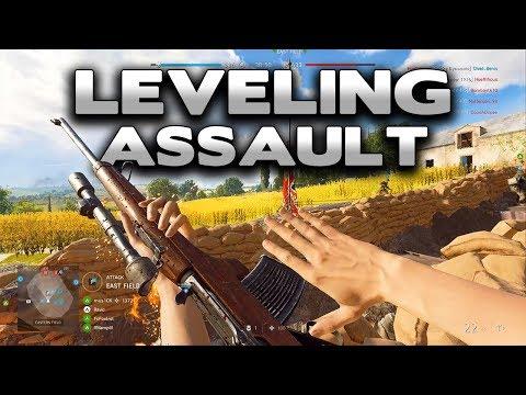 Battlefield 5 Leveling Assault Class Gameplay thumbnail