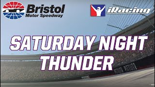 Full Race Replay | Saturday Night Thunder | iRacing from Bristol Motor Speedway