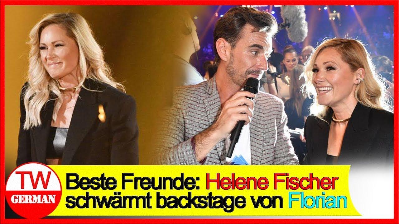 Beste Freunde: Helene Fischer schwärmt backstage von