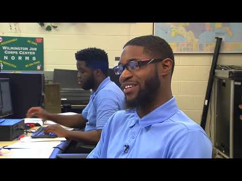 Josiah Finds Direction In Job Corps' Office Administration Program