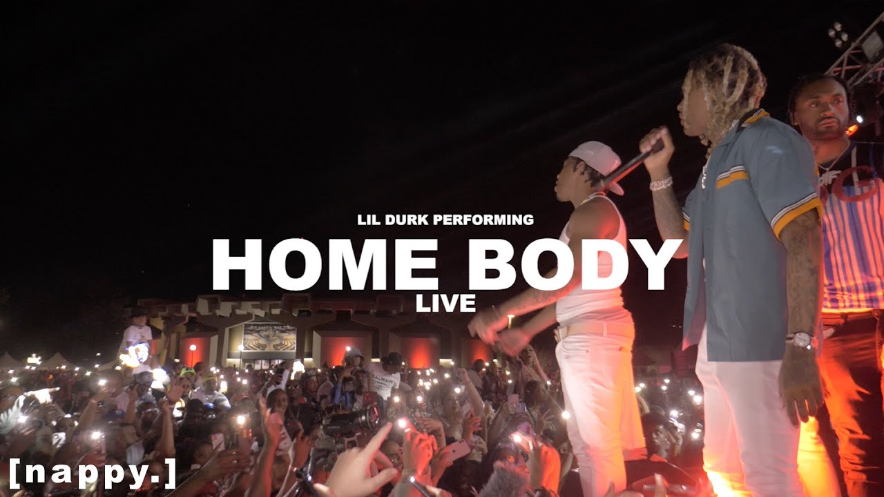 Download Lil Durk performing 'Home Body' Live at SMURKCHELLA