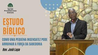 Estudo Bíblico (30/07/2020) - Igreja Presbiteriana Itatiaia