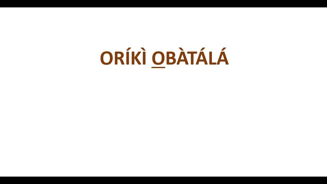 Oriki Oyo t
