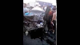Авария на Вавилова в Ростове 20.07 2016 в 19.30 возле АТП№3
