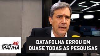 Datafolha errou em quase todas as pesquisas | Marco Antonio Villa