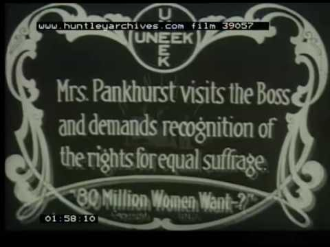 Women's Political Union, 1910s - Film 39057