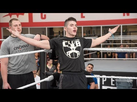 How i trained for my WWE tryout! #130