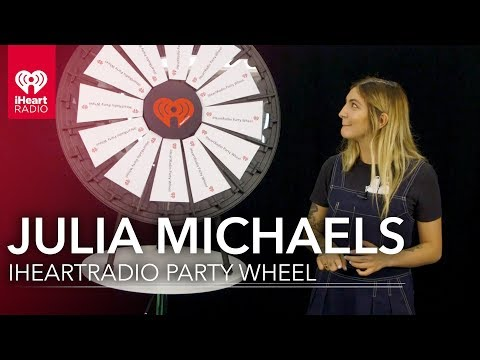 """""""Bad Liar"""" is Julia Michaels' Fav Song She Wrote   iHeartRadio Party Wheel"""