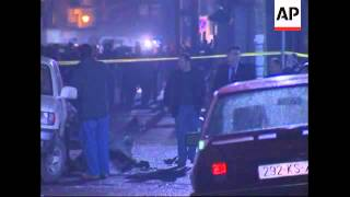 Explosion damages three UN vehicles