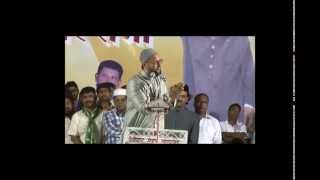 Barrister  Asaduddin Owasi sahab full speech at solapur,MMT youth foundation