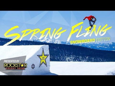 Rockstar Spring Fling - Snowboard Edition