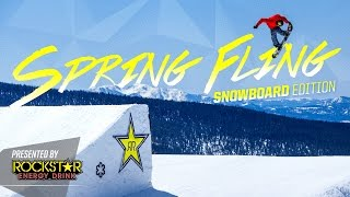 Rockstar Spring Fling - Snowboard Edition