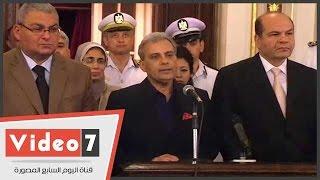 شاهد.. جابر نصار: الداخلية دربت الأمن الإدارى على مواجهة إرهاب الإخوان فى الجامعة