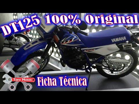 yamaha DT 125 100% ORIGINAL ficha t�cnica | ToroMotos