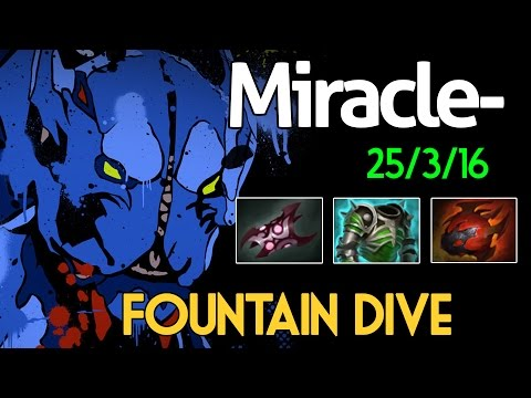 Miracle- Dota 2 : Night Stalker Vol.2 - [Middle] Fountian Dive