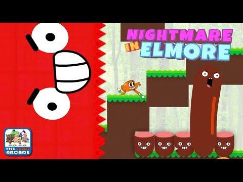The Amazing World of Gumball: Nightmare In Elmore - Giant Wall vs Hotdog (Cartoon Network Games)