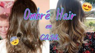 Como fazer ombré hair em casa - Por Dominique Rodrigues