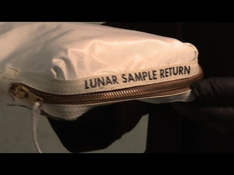 Neil Armstrong moon bag on sale for up to $4 million