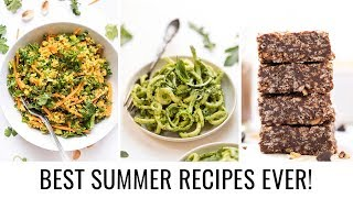 3 *EASY* SUMMER RECIPES | vegan & gluten-free