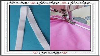 Como coser el elastico a las prendas interiores