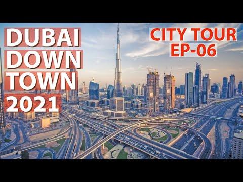 DUBAI DOWNTOWN 2021 (BURJ KHALIFA Area, Dubai Opera)🔥🔥City Tour by Car EP-06, Driving in Dubai UAE