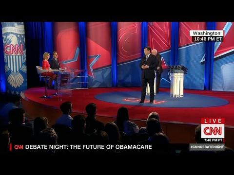 The Future of Obamacare -- A CNN Debate with Sen. Cruz & Sen. Sanders