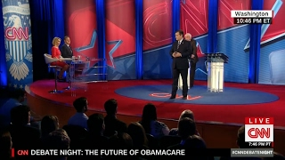 The Future of Obamacare -- A CNN Debate with Sen. Cruz & Sen. Sanders