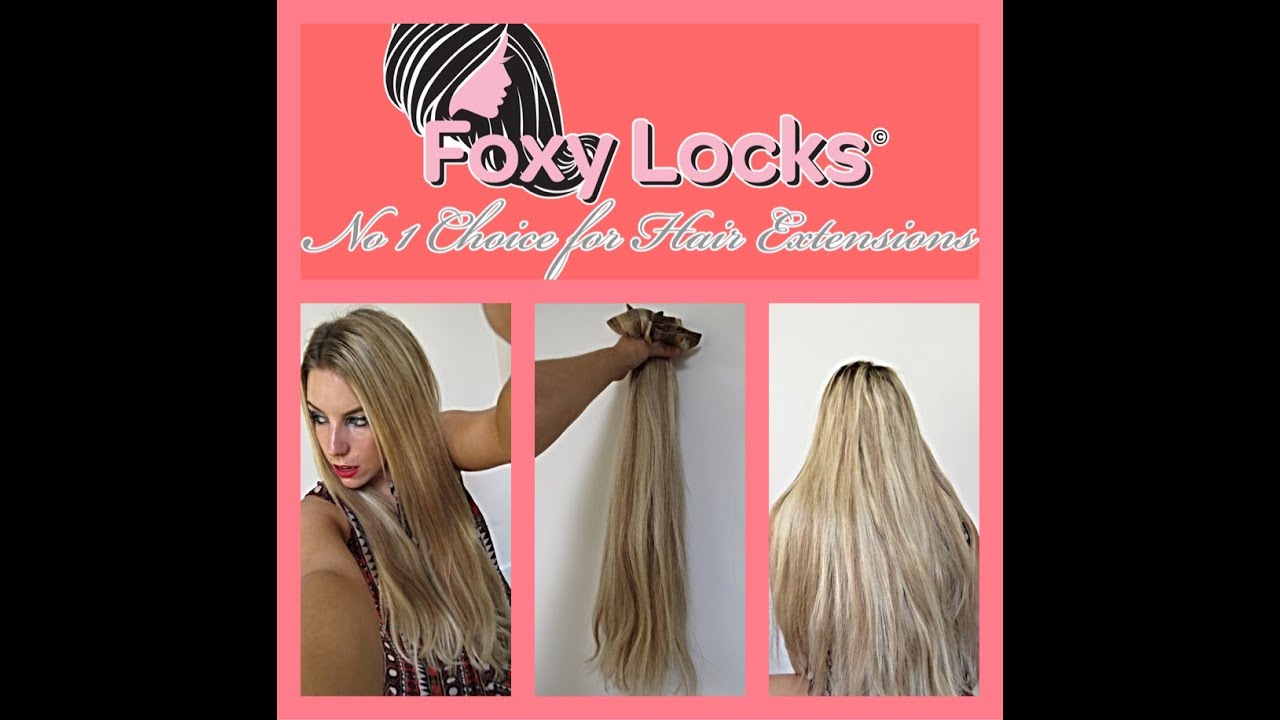 How To Clip On Foxy Locks Seamless Luxurious 24 Extensions Review