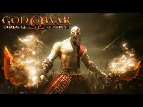 God of War Chains of Olympus All Cutscenes Movie HD