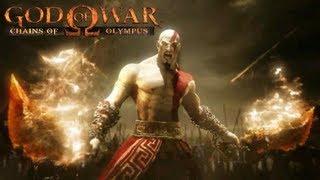 God of War Chąins of Olympus All Cutscenes Movie HD