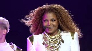 Janet Jackson ESCAPADE - WHEN I THINK OF YOU Live Unbreakable World Tour Orlando Florida 2015
