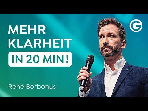 Gespräche führen lernen: Wie du mit Rhetorik Klarheit im Leben schaffst // René Borbonus