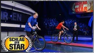 Spiel 6: Langsam Radfahren - Schlag den Star