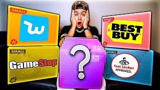 Unboxing $5,000 Black Friday Mystery Boxes!! (mnml, Bestbuy, Gamestop, Footlocker, Wish)