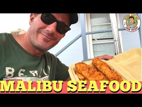 EATING FRESH FISH AT MALIBU SEAFOOD CO.-MALIBU, CALIFORNIA-TRAVEL MAN DAN
