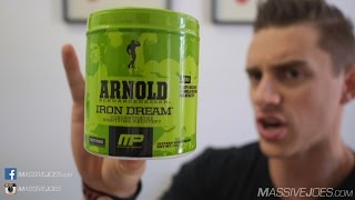 Arnold Series Iron Dream Sleep Supplement Review - MassiveJoes.com MusclePharm GH Booster