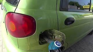 Реальный расход бензина на Дэо Матиз по городу на МКПП дв. 0.8