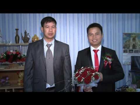 DAM CUOI THANH CHUYEN VA MINH HANG