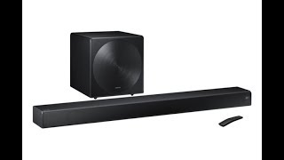 Samsung HW MS750 Sound+ soundbar review It's great for music, but you'll want the optional