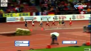 Adam Kszczot - Złoty medal podczas Mistrzostw Europy w bieg na 800m Zurich 2014