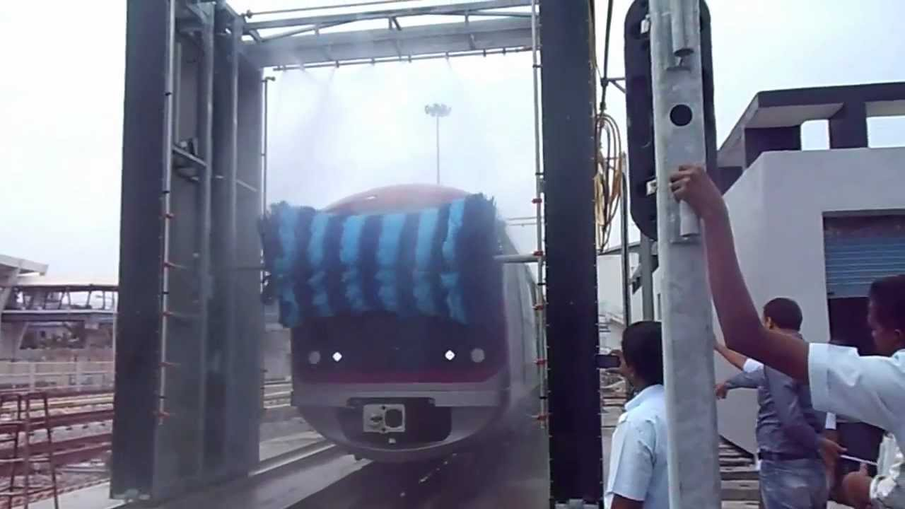 Automatic Train Wash Plant Front Rear Amp Top Wash Mov