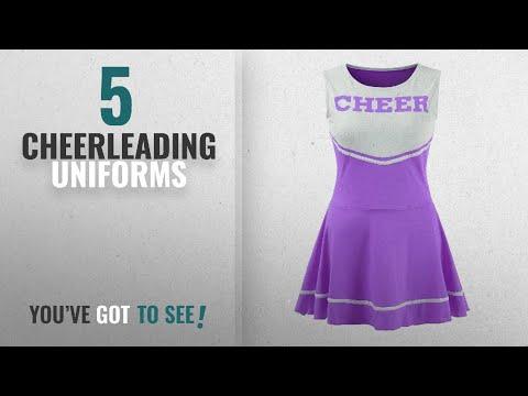 Top 10 Cheerleading Uniforms [2018]: Ourlove Fashion Women's Musical Uniform Fancy Dress
