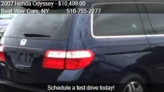 2007 Honda Odyssey EX-L w/DVD 4dr Minivan 101k Used Vans Levittown NY 11756 Plainview NY 11803