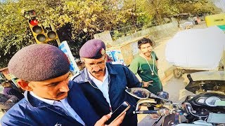 WHY DELHI POLICE STOPPED ME ?