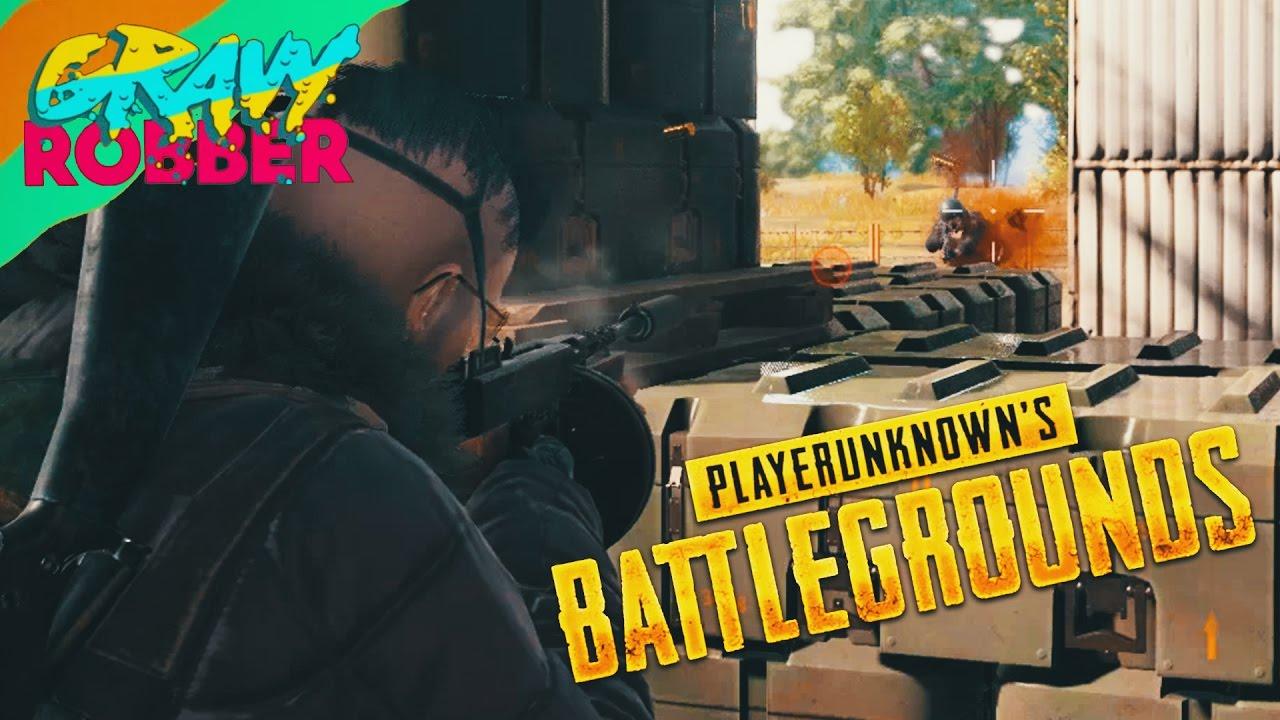 Playerunknown S Battlegrounds Cartoon: TOMMY GUN - PUBG