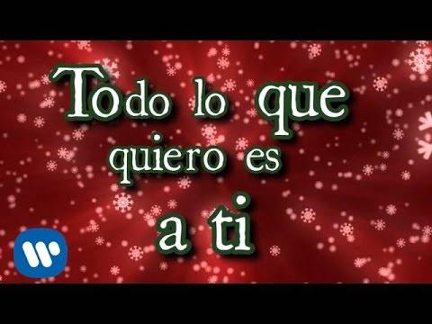 EME15 Todo lo que Quiero en Navidad Video con Letra YouTube