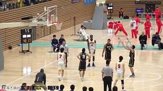北陸vs東海大諏訪(Q2)高校バスケ 2019 北信越新人戦準決勝